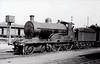 Class D12 - 306 - GS&WR Class 305 4-4-0, built 1902 by Inchicore Works - 1906 rebuilt, 1925 to GSR,1931 rebuilt with Belpaire boiler, 1935 rebuilt with Belpaire boiler, 1945 to CIE - withdrawn 1959 - seen here at Dublin Kingsbridge in 1929.