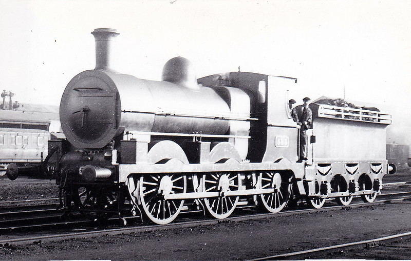 Class J18 - 583 -  Atock M&GWR Class Lm 0-6-0 - built 1892 by Broadstone Works as M&GWR No.82 CLONBROCK - 1925 to GSR as No.583, 1926 rebuilt with Belpaire boiler, 1932 superheated, 1945 to CIE - withdrawn 1955 - seen here after 1926 rebuild.