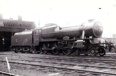 Class B 1A - 800 MAEDHBH - Bredin GSR Class 800 4-6-0, built in 1939 by Inchicore Works - 1945 to CIE - withdrawn in 1962.