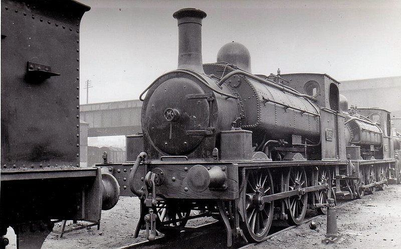 Class J24 - 473 - CB&SCR 0-6-0ST - built 1894 by Beyer Peacock as CB&SCR No.17 - 1925 to GSR as No.473 - withdrawn 1935.