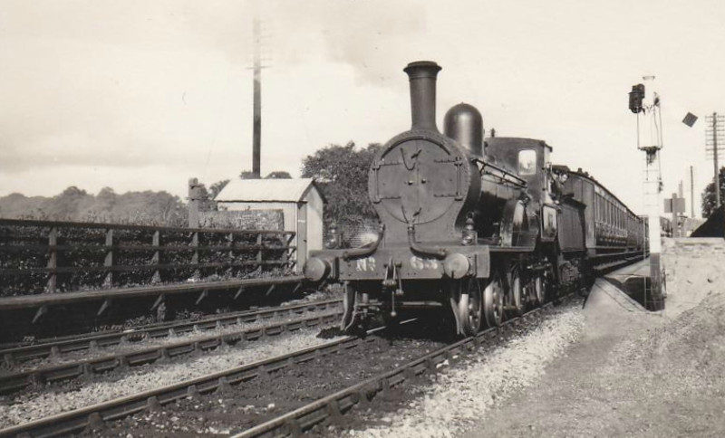 Class D14 - 63 - GS&WR Class 60 4-4-0, built 1891 by Inchicore Works - 1925 to GSR, 1945 to CIE - withdrawn in 1955.