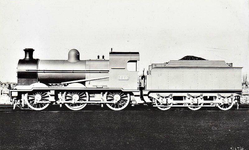 Class J15A - 710 - GSR Class 700 0-6-0, built in 1934 by Inchicore Works - 1945 to CIE - withdrawn 1959 - works photo.