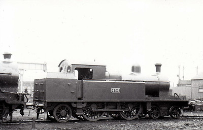 Class C 2 - 456 - 4-4-2T, built 1924 by Beyer Peacock as Dublin & South Eastern Railway No.34 - 1925 to GSR No.456, 1935 rebuilt, 1938 rebuilt with Belpaire boiler, 1941 rebuilt with round top boiler, 1945 to CIE - withdrawn 1955 - seen here at Inchicore in June 1938 after rebuild.
