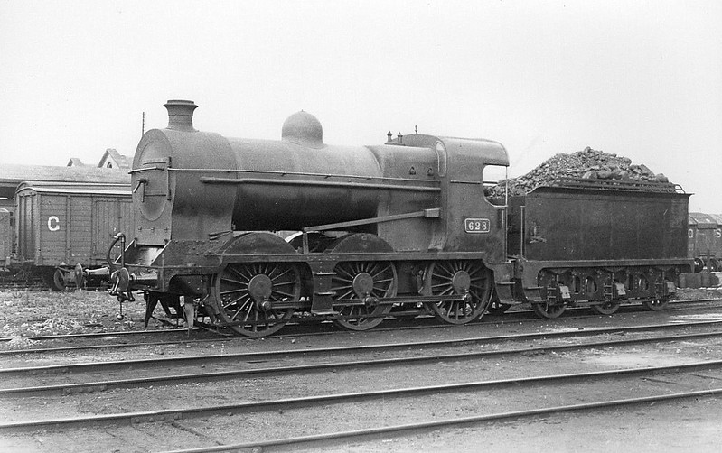 Class J5 - 629 - MGWR Class Fa 0-6-0 - built 1924 by Broadstone Works as MGWR No.92 - 1925 to GSR as Class 623 No.629, 1945 to CIE - 1954 withdrawn.