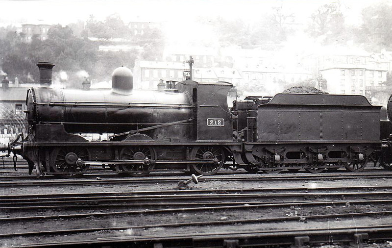 Class J 3 - 212 - GS&WR Class 211 0-6-0, built 1903 by North British Loco Co. as 0-6-2T - 1907 rebuilt as 0-6-0 - 1925 to GSR, 1945 to CIE - withdrawn 1951.