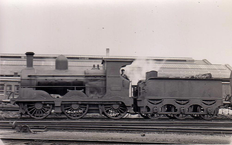 Class J19 - 600 - M&GWR Class L 0-6-0, built 1887 by Broadstone Works as M&GWR No.61 LYNX - 1913 rebuilt with Belpaire boiler, 1925 to GSR as No.600, 1945 to CIE, 1950 rebuilt with Belpaire boiler - withdrawn 1957.