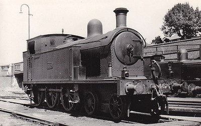 Class B 4 - 468 - CB&SCR 4-6-0T - built 1910 by Beyer Peacock as Cork, Bandon & South Coast Railway No.15 - 1925 to GSR as No.468, 1944 rebuilt with Belpaire boiler, 1945 to CIE, 1948 rebuilt with round topped boiler, 1950 rebuilt with Belpaire boiler - withdrawn 1961.