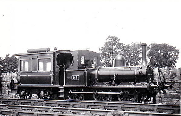 92 - McDonnell Class 90 0-6-4T - built 1881 by Inchicore Works for departmental service between Inchicore Works and Kingsbridge Station - 1925 to GSR - 1945 to CIE - 1945 withdrawn - seen here in July 1914.