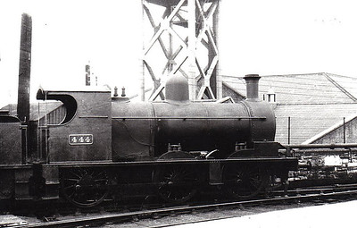 444 - D&SER 0-6-0 - built 1910 at Grand Canal Street Works as D&SER No.18 ENNISCORTHY - 1925 to GSR as No.444, 1943 rebuilt with Belpaire boiler, 1945 to CIE, 1947 rebuilt with round topped boiler - withdrawn 1957 - seen here at Dublin Amiens Street in 1938.