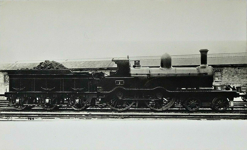1 - Aspinall GSWR Class 52 4-4-0 - built 1890 by Inchicore Works - 1925 to GSR as Class D17 - 1945 to CIE - 1955 withdrawn.