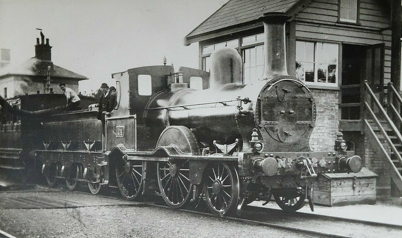 24 - McDonnell GSWR Class 21 2-4-0 - built 1873 by Inchicore Works - 1923 destroyed during Civil War.