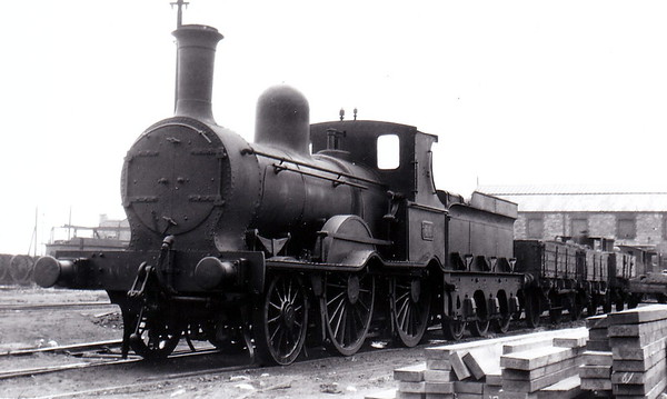 66 - McDonnell GSWR Class 21 2-4-0 - built 1876 by Inchicore Works - 1925 to GSR - 1928 withdrawn.