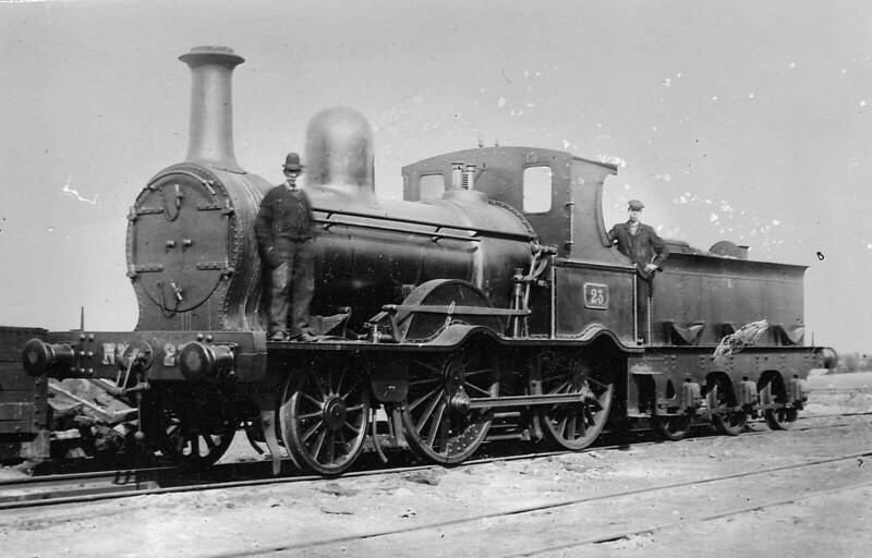 23 - McDonnell Class 21 2-4-0 - built 1873 by Inchicore Works - 1912 withdrawn -