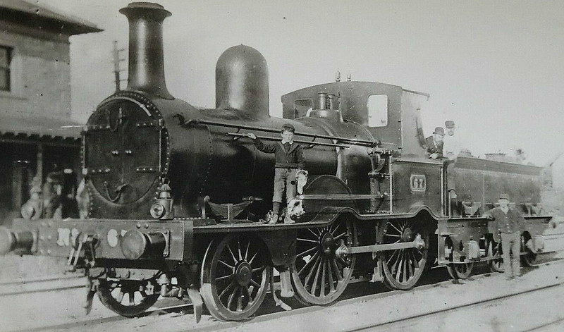 67 - McDonnell GSWR Class 21 2-4-0 - built 1876 by Inchicore Works - 1925 to GSR - 1928 withdrawn.