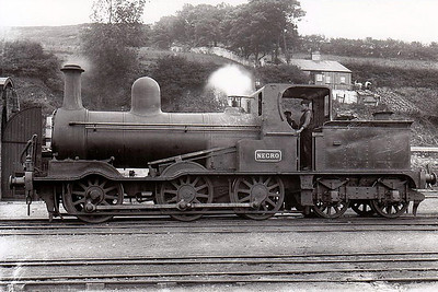 201 - GS&WR Class 201 0-6-4WT - built 1876 by Inchicore Works - 1896 number removed and named NEGRO for departmental service - withdrawn 1910.