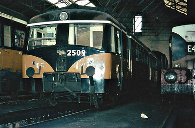 CORAS IOMPAIR EIREANN - 2509 - built in 1947 by Walkers Bros. of Wigan for the SL&NCR as Railcar B - 1957, sold to CIE on closure and renumbered No.2509, seeing use on crew training duties from 1964 and serving on the Nenagh branch in the early 1970's.