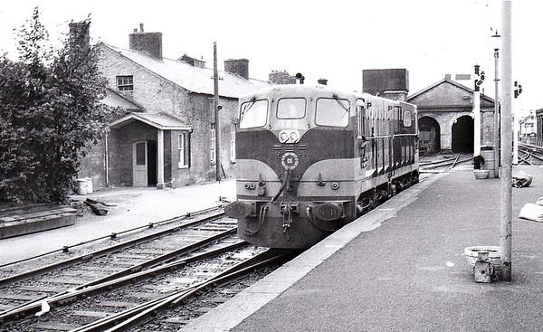 CORAS IOMPAIR EIREANN - B190 - General Motors Class 181 Bo-Bo DE - 12 locos delivered in 1966.