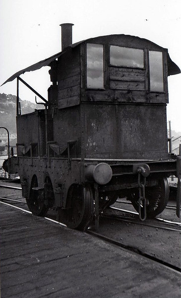 An 0-4-0VBT used in the depot at Cork Glanmire Road to shunt the coaling stage - seen here on the Quay at Cork.