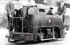 GUINNESS BREWERY TRAMWAY -  6 - 1ft 10in. gauge 0-4-0T built 1882 by Avonside Engine Co. - withdrawn 1936 - seen here in 1932.