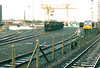 BELFAST - ADELAIDE FREIGHT YARD - This is the main freight terminal in Northern Ireland, October 23rd, 2002.