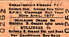 RAILWAY PRESERVATION SOCIETY OF IRELAND TICKET - MULLINGAR - 'Claddagh' Rail Tour, April 30th, 1977 - hauled by Class J15/101 0-6-0 No.186 to Galway and return.