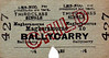 LMSR/NORTHERN COUNTIES COMMITTEE TICKET - MAGHERAMORNE - Third Class Child Single to Ballycarry - fare 4d - dated January 22nd, 1961.