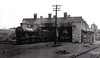 THURLES MOTIVE POWER DEPOT - the three road engine shed at Thurles in May 1949.