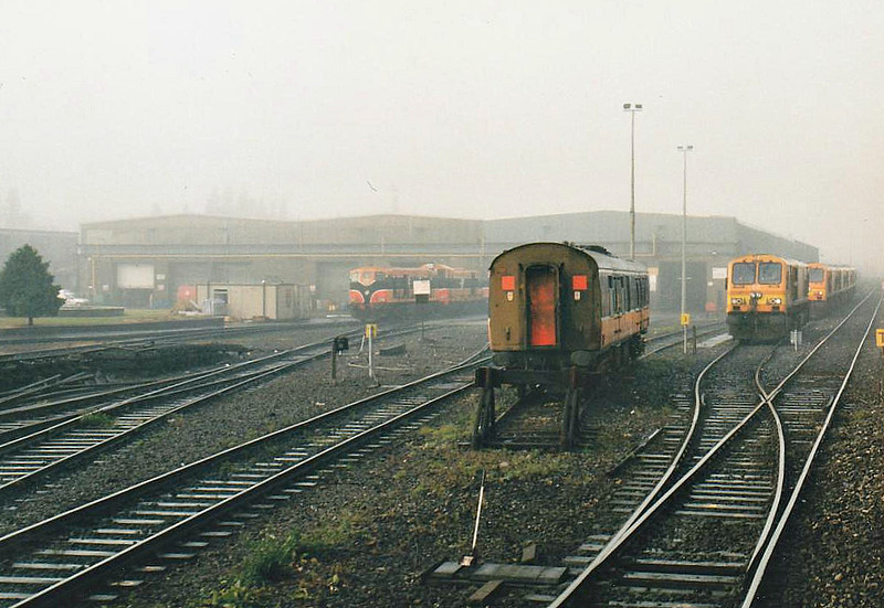 INCHICORE WORKS AND DEPOT - Seen here in October 2002.