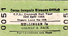 CORAS IOMPAIR EIREANN TICKET - MULLINGAR to GALWAY - RPSI 'Claddagh Rail Tour' - ran on April 23rd, 1983, from Mullingar to Galway and back behind Class 101 J15 0-6-0 184.