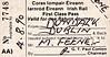 CORAS IOMPAIR EIREANN TICKET - DUNDALK to DUBLIN - First Class Return Pass to Dublin, issued to a Mr. M Feeney, valid until August 4th, 1990