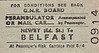 GREAT NORTHERN RAILWAY (IRELAND) TICKET - NEWRY (Edward Street) - Perambulator or Mail Cart to Belfast, fare 5s 4d.