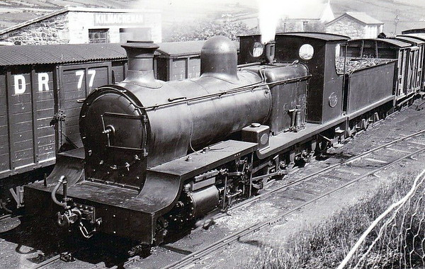 No.12 - 4-8-0 - built 1905 by Hudswell Clarke & Co., Works No.747 - 1954 withdrawn.