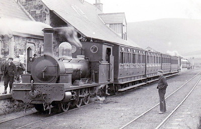 No.1 J T MACKY - 0-6-2WT - built 1882 by Black Hawthorn & Co., Works No.684 - 1911 sold to McCrea & McFarland, Contracors.