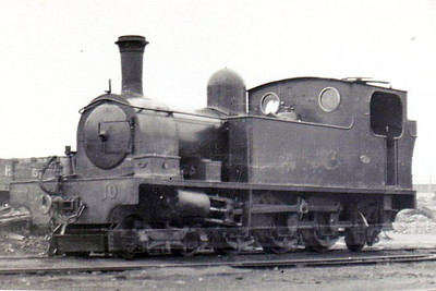 No.10 RICHMOND - 4-6-2T built 1904 by Kerr Stuart & Co., Works No.846 - withdrawn 1954 - seen here at Londonderry in 1948 after denaming.