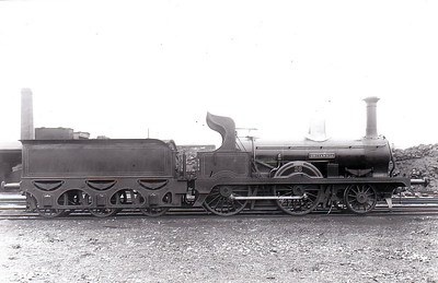 Class D - 26 BRITANNIA - Atock MGWR 2-4-0 - built 1880 by Beyer Peacock & Co., Works No.1963 - 1900 withdrawn.