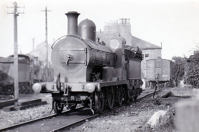 23 SYLPH - Atock MGWR 2-4-0 - built 1873 by Neilson & Co., Works No.1794 - 1896 withdrawn.