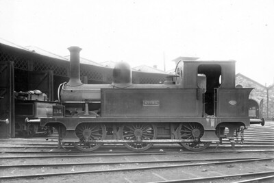 Class E - 114 STORK - Atock MGWR Class E 0-6-0T - built 1891 by Kitson & Co., Works No.3382 - 1925 to GSR No.559 - 1945 to CIE - 1960 withdrawn.
