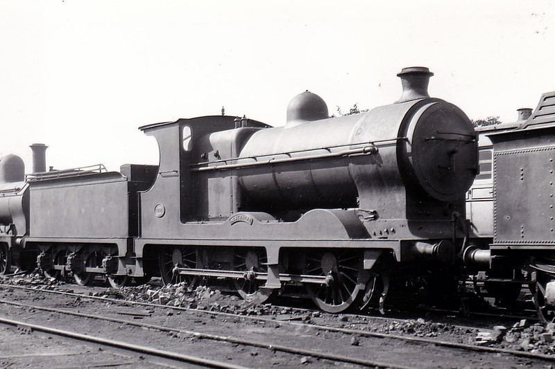Class B - 144 AUSTRALIA - Cusack MGWR 0-6-0 - built 1904 by North British Loco Co., Works No.16129 - 1917 rebuilt with superheated Belpaire boiler - 1925 to GSR as Class J2 No.647 - 1930 withdrawn - seen here after rebuild.