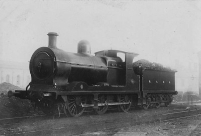 MIDLAND & GREAT WESTERN RAILWAY - 146 AFRICA - M&GWR Class B 0-6-0, built 1904 by North British Loco Co. - 1919 rebuilt with Belapire boiler, 1925 to GSR as No.649 - withdrawn 1939.