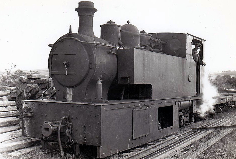 CASTLEDERG & VICTORIA BRIDGE TRAMWAY - No.5 - an 0-4-4T, built 1912 by Hudswell Clarke & Co., Works No.978 - withdrawn 1933 on closure of line.
