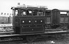 BELFAST & NORTHERN COUNTIES RAILWAY - No.2 - Port Stewart Tramway 0-4-0T 3-foot Gauge Tram Engine - built 1883 by Kitson & Co. as No.2 - 1897 to BNCR, number unchanged - 1926 withdrawn when Tramway closed - seen here en route to/from Works on transporter wagon.