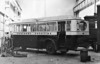 NORTHERN COUNTIES COMMITTEE - RAILBUS No.42 - I can find out nothing about his vehicle and it may just be an ordinary road bus bity I think not. Notice how it perfectly straddles the railway lines and what are those curious bars on the back wheels?