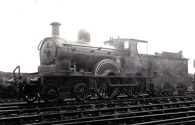 Class D - 55 PARKMOUNT - Class D 4-4-0, built in 1895 by Beyer Peacock for Belfast & Northern Counties Railway as a 2-4-0 - 1897 rebuilt as 4-4-0 - 1903 to MR (NCC), 1923 to LMS (NCC) - withdrawn 1940, reinstated 1942, withdrawn 1944.