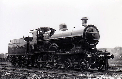 Class U2 - 74 DUNLUCE CASTLE - Fowler Class U2 4-4-0, built 1924 by North British Loco Co. - 1949 to UTA - withdrawn 1963.
