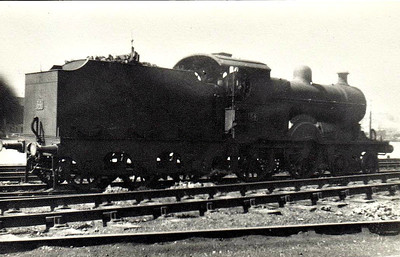 Class A1 - 34 QUEEN ALEXANDRA - 4-4-0, built 1901 by B&NCR - 1903 to NCC(MR), 1923 to NCC(LMS), 1928 rebuilt and superheated as Class A1, 1933 renamed KNOCKLAYD, 1948 to UTA - withdrawn 1950.