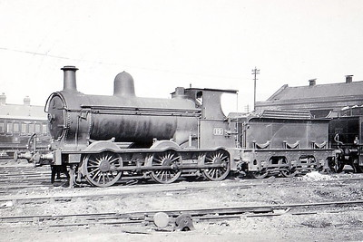Class L - BELFAST & NORTHERN COUNTIES RAILWAY - 19 - 0-6-0, built 1857 by Sharp Stewart & Co., Works No.994 - 1903 to MR (NCC), 1908 rebuilt, 1920 rebuilt - 1923 to LMS (NCC) - 1933 withdrawn.