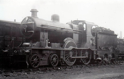Class A1 - 66 BEN MADIGAN - NCC Class A 4-4-0 - built 1905 by Derby Works - 1930 rebuilt with Belpaire boiler as Class A1, 1948 to UTA - withdrawn 1954 - seen here after 1930 rebuild.