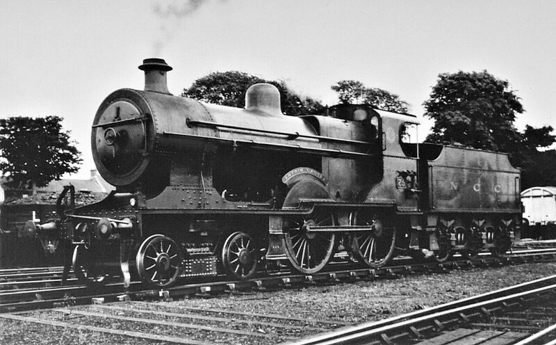 75 ANTRIM CASTLE - LMSNCC Class U2 4-4-0 - built 1924 by North British Loco Co. - 1931 named ANTRIM CASTLE - 1948 to UTA - 1956 withdrawn.