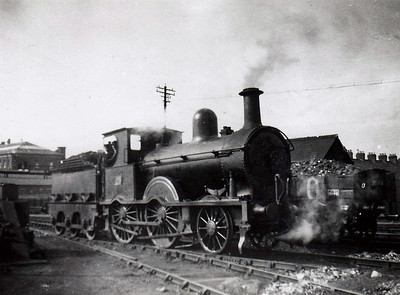 Class F - 23 - B&NCR Class F 2-4-0, built 1885 by Beyer Peacock - 1903 to MR(NCC), 1923 to LMS(NCC) - withdrawn 1940.