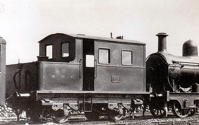 Sentinel - 91 - 0-4-0 Sentinel built in 1925 by Sentinel Waggon Works - withdrawn 1932 - evidently not a great success - seen here at Belfast in 1930.